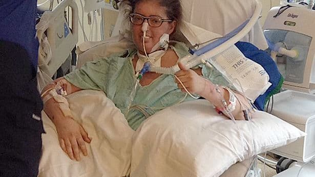 Melissa Benoit was going to die due to a lifelong battle against cystic fibrosis and a drug-resistant bacterial infection, but a team of brave doctors tried the impossible to buy her time for a transplant, and miraculously, it worked. Find out more here: