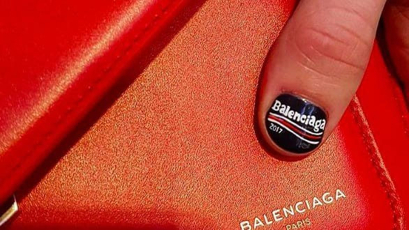 """Bernie may not think of himself as a """"fashion maven,"""" but Balenciaga sees things a little differently! So much so that they incorporated his campaign logo design into their 2017 Fall-Winter fashion line. Find out more here!"""