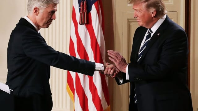 Neil Gorsuch was announced as Trump's pic for the Supreme Court this week, and is already criticizing the actions of the President. Is this a good sign?