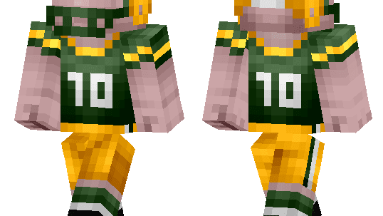 Want Aaron Rodgers in your game? Works best on servers with better plugins, by the way.