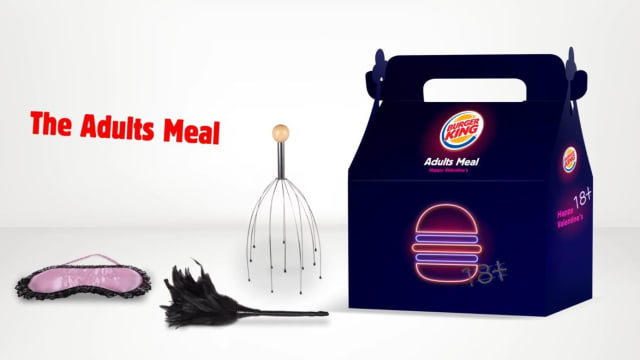 "Burger King offers up an ""Adult Meal"" complete with sex toy, because why the hell not."