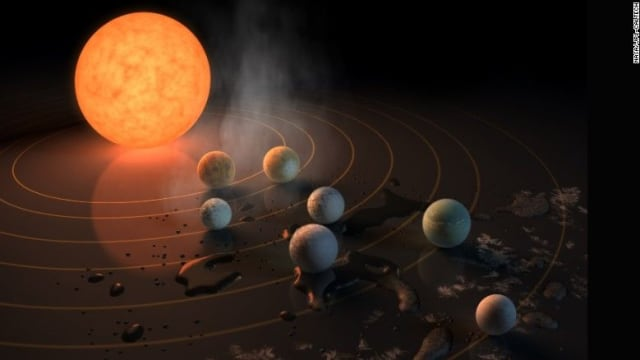 Scientists have discovered seven earth-sized planets orbiting a tiny red dwarf star the size of Jupiter called TRAPPIST-1. Three of them may support life. Find out more about this exciting new discovery and what it means for us here.