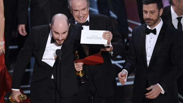 La La Land was mistakenly awarded the Oscar for Best Picture last night and the whole cast was onstage before it was correctly awarded to Moonlight. Here's how it happened.