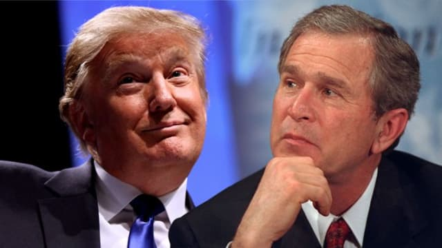 GW Bush said that he doesn't like all 'the name calling' that's been happening since Trump took office. Do you agree with him?