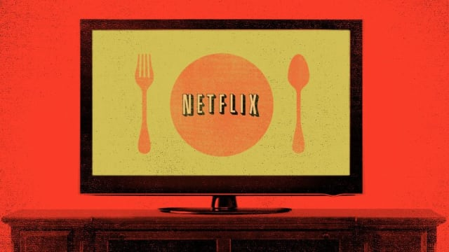 Because what goes better with Netflix than some food?