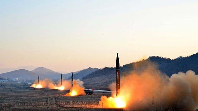 Kim Jong Un warned that he would rain down missiles on the US and is developing a weapon that can read American soil. How should Trump respond?