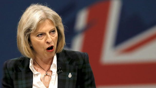 Is this enough? May gave a rousing speech, but in the face of such an attack do her words carry weight?