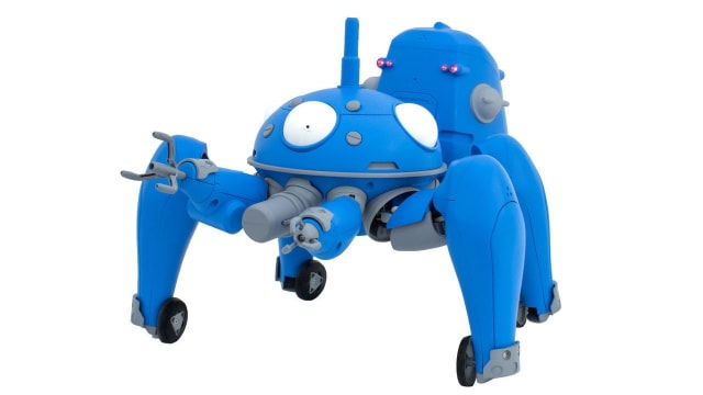 Cerevo have announced that their smart enabled ⅛ scale TACHIKOMA can be pre-ordered today and will be available for purchase this June.