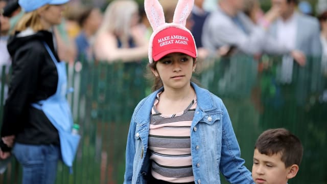 They've already supposedly lagged behind on planning and are hosting a smaller egg roll than the Obama's final roll last year. Do you think they'll pull off the best white house Easter egg roll ever?