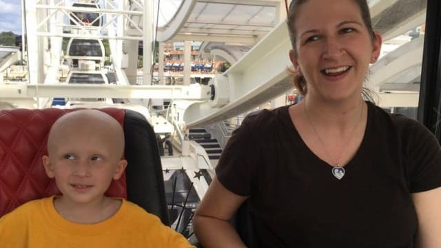 Two months after her son, Nolan's, death, Ruth Scully created a Facebook post in his memory, depicting the reality of his last days with cancer before he died. See the beautiful tribute and find out more here.