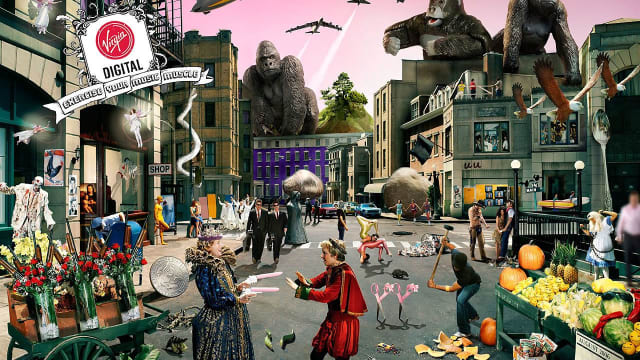 "The folks at Virgin Digital have hidden graphic representations of Rock Bands in this picture. For example, there are guns in the basket with roses, which obviously represents the band ""Guns N' Roses."" We have organized three Rock Band Picture Challenges for you. Can you find them all? Have fun!!!"