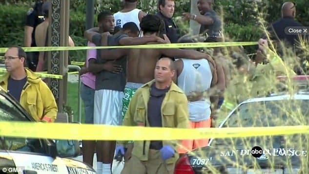49-year-old Peter Selis was shot dead by police after pointing his gun at them when they responded to 911 calls saying he was shooting people at a pool party. Of his eight victims, one is now dead. Find out more here.