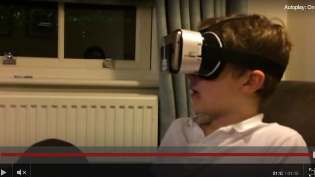 Charlie Mason, a 9-year-old boy living in the UK, lost his vision due to a juvenile disease called Stargardt's Macular Dystrophy. Now, thanks to SightPlus goggles, he can see again for the first time. Watch him see again for the first time here!