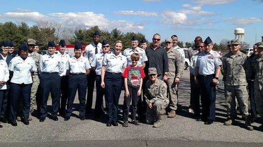 9-year-old comic lover Carl coordinated with the Department of Veterans Affairs to donate a large comic collection to soldiers overseas. As a thank you, he got a once-in-a-lifetime tour of Joint Base McGuire-Dix-Lakehurst in New Jersey. Find out more here!