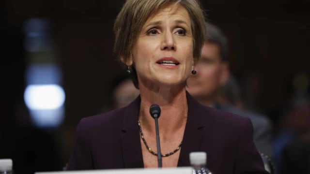 Yates testified in front of a Senate Committee yesterday defending her landmark decision not to defend Trump's travel ban. Was she right?