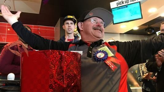 Daniel Lybrink, who has Down Syndrome, is finally retiring after 33 years as a greeter at McDonald's, but he says he'll miss his job and he will also be sorely missed!