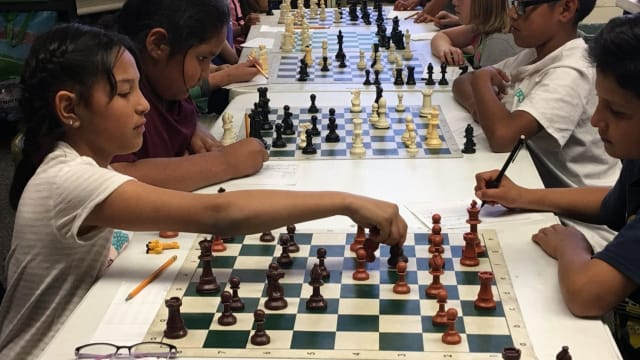 Ted Komada didn't know how to connect with his class, but noticed that a group of them would get together every evening to play chess so he got involved. Now they're on their way to a National Championship!
