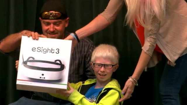 Ten-year-old Andrew Borden has been legally blind, essentially since birth. But thanks to his friends, family, and community and an eSight 3 visor, this fourth grader from Maryville, Tennessee can finally see! Find out more here!
