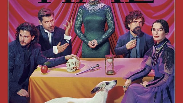 Time magazine hired photographer Miles Aldridge to shoot the star's of this season of Game of Thrones, but who would have expected a psychedelic trip drawing influences from Elizabethan England to the 1940s and 60s. See the incredible results here!