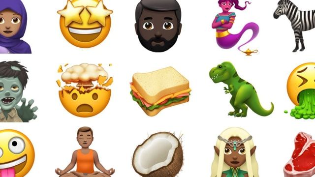 The most talked about so far have been the new hijab-wearing woman and breastfeeding mom, but have you seen the mind blown emoji? We have a feeling you'll be getting a lot of use out of it. See them all here!