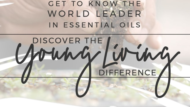 Biggest Question:   Why Young Living?  What's the difference?  Here is the answer.