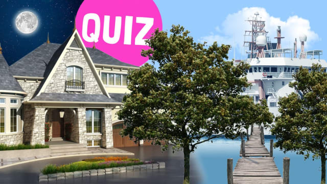 This quiz will settle once and for all where you're going to live when your older!  Will it be a huge mansion with loads of rooms and our own servants, or will it it be a cute little hut in the woods?Maybe you'll get to hang out in a nice cottage - or will you spend all your time on a boat?