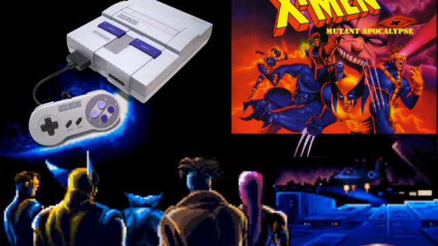 The X-Men find a home on the Super Nintendo