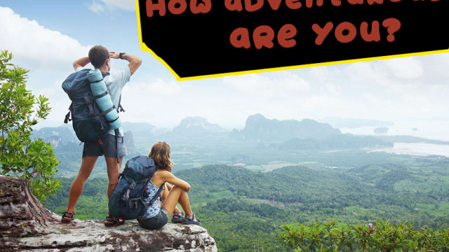 Are you a couch potato? Or are you ready to take on the Amazon Rainforest? Find out with this quiz!