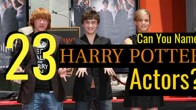 OR Emma Watson, sorry. Ready for a trip down memory lane?