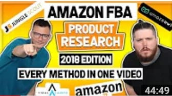 Amazon FBA Product Research 2018