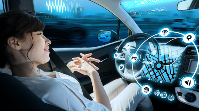 Technology is finding its way into cars more every year. Get ready for your time in the car to not be so much about driving as it is about shopping or working.