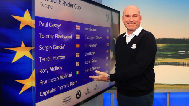 Who will finish Europe's top scorer at the 42nd Ryder Cup? Vote for your favourite!