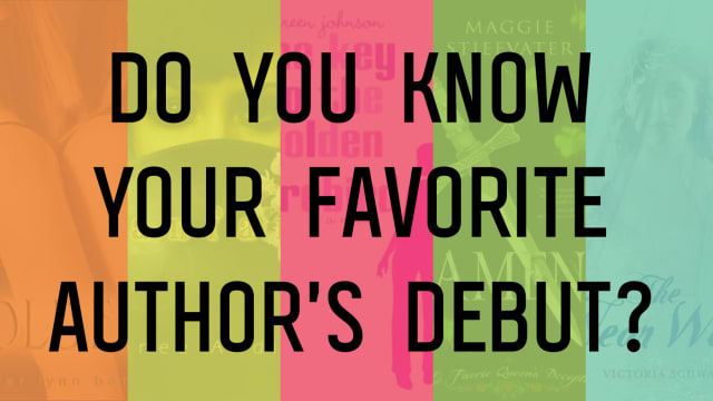 Sure, you know them for that New York Times bestseller, or the book you have three different versions of on your shelf. But for most of these authors? Their debuts might not be what you think!