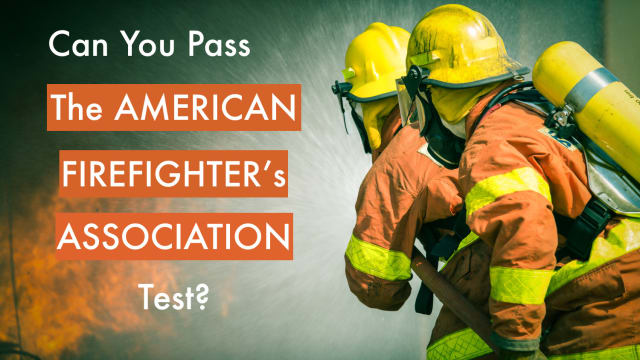 Only a select few people are cut out to be firefighters. Are you one of those people? Test your knowledge of fire safety, fire science and first aid with this comprehensive test!