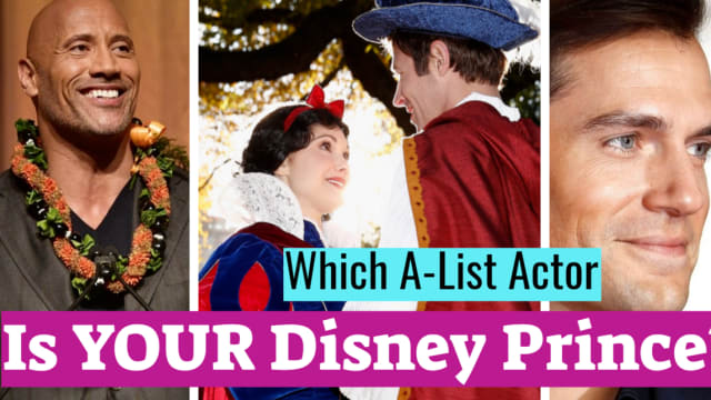 Let's face it. If there ever was a question keeping us up at night, it's this one. We're all the Disney Princess of our own lives - which means we all need a Prince. Right? So which gorgeous leading man is destined to play yours?