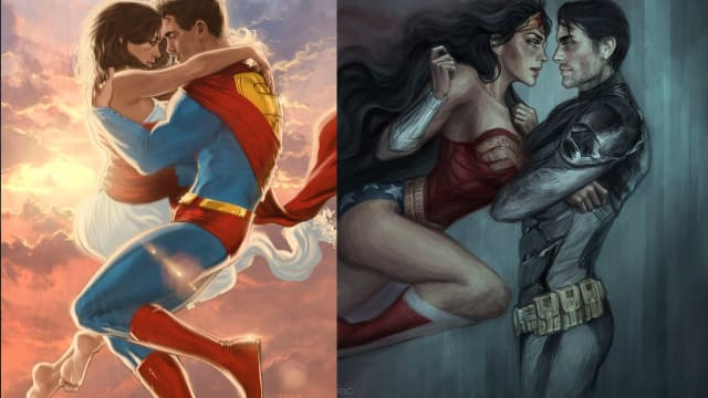 The Top DC Romances.  Which are the best DC Comics Romances.Vote!