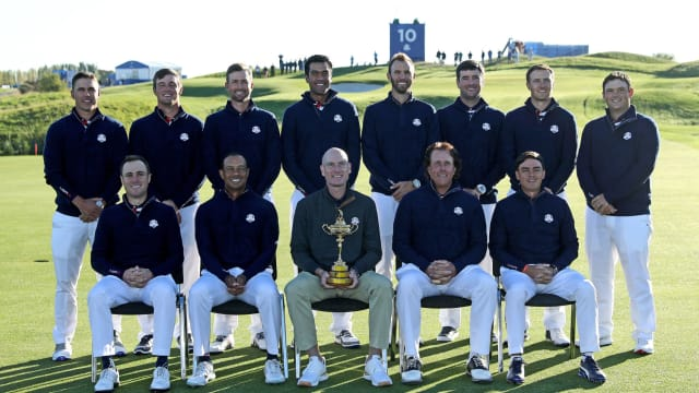 Which player impressed you the most for Team USA at Le Golf National? Vote for your favourite...