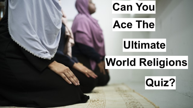 There's hinduism, judaism, christianity...so many different religions out there. Do you have what it takes to ace this world religions - focused trivia quiz? Let's see...take the ultimate world religion quiz and find out where you stand.