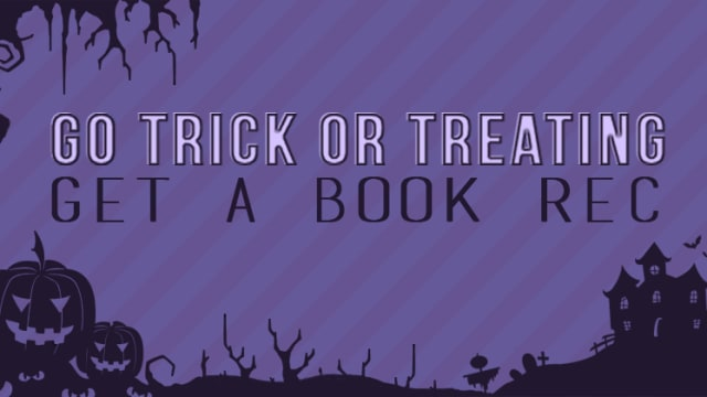We're in full Halloween spirit swing and can't wait to don our best YA-inspired costume. But if you're in need of inspiration—or a brand new read—we're ready to help you out with books and candy to match!