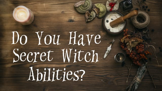 Do you have some secret witch powers hiding under the surface? Have you spent your whole life thinking you're a normal girl when you're actually a true, bonafide witch? Take this quiz to find out!
