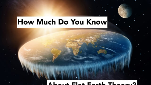 Celebrities like Tila Tequila and B.O.B. are convinced that the earth is flat. Do you know as much as they do about this strange theory? Test your conspiracy knowledge with this comprehensive quiz!