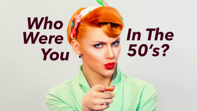 Would you be a lindy hopper? What about a greaser? Who would you be in the 50's?