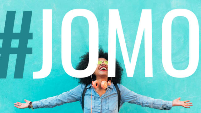 JOMO is the JOY of Missing Out, unlike the Fear of FOMO we're used to. How capable are you of stepping back and letting yourself enjoy life? These research based questions will let you know just that.