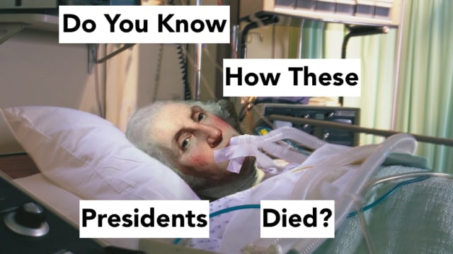 You'll never guess how these presidents died! Test your presidential knowledge with this history test!