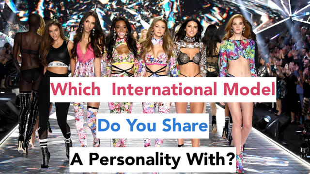 Have you ever wondered which international model you're most like? Well wonder no more! Take this fashion model quiz to find out!