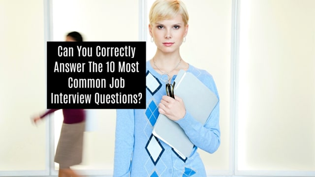 Only 4% of the population know what to expect in job interviews. Do you?