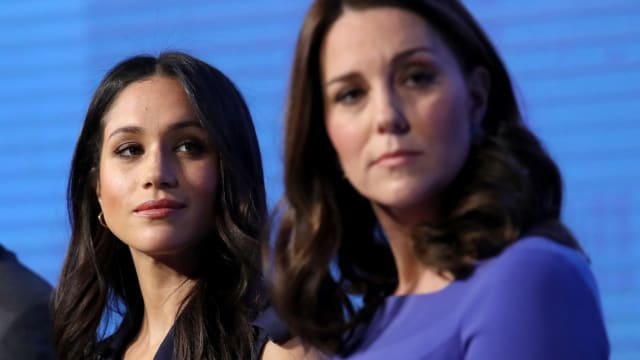 Meghan Markle is adjusting to her new life as British royalty, but is all right in the palace? Some tabloids say that a divide could be growing between Meghan Markle and her sister-in-law, Kate Middleton.