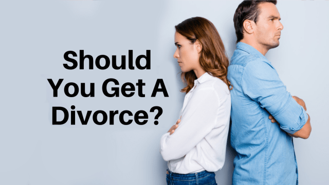 Are you unhappy in your marriage? Well, take this quiz and find out if you should cut loose from matrimony.