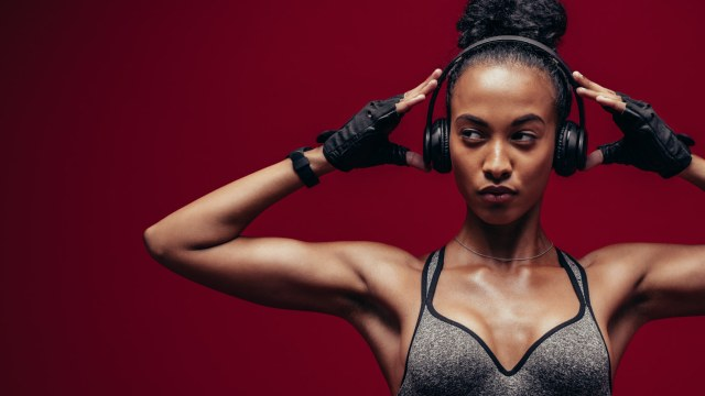 If your New Year's resolution is to get in shape then you'll need the right music. Trust us, it's impossible not to move your body with these energetic jams in your headphones.