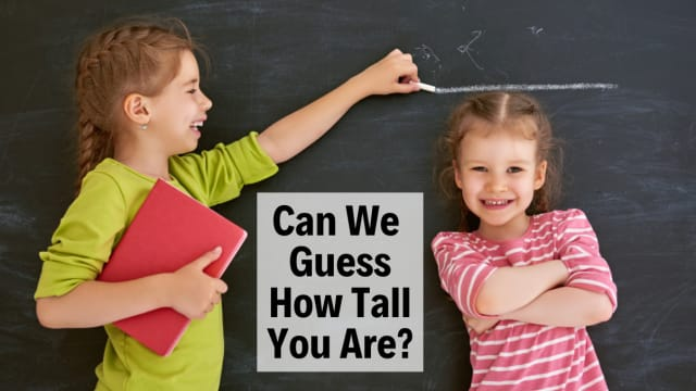 "Does your personality reflect your height? Take this ""how tall are you"" quiz to find out!"